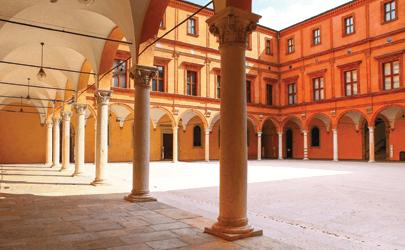 Cortile d'Onore Palazzo dei Pio